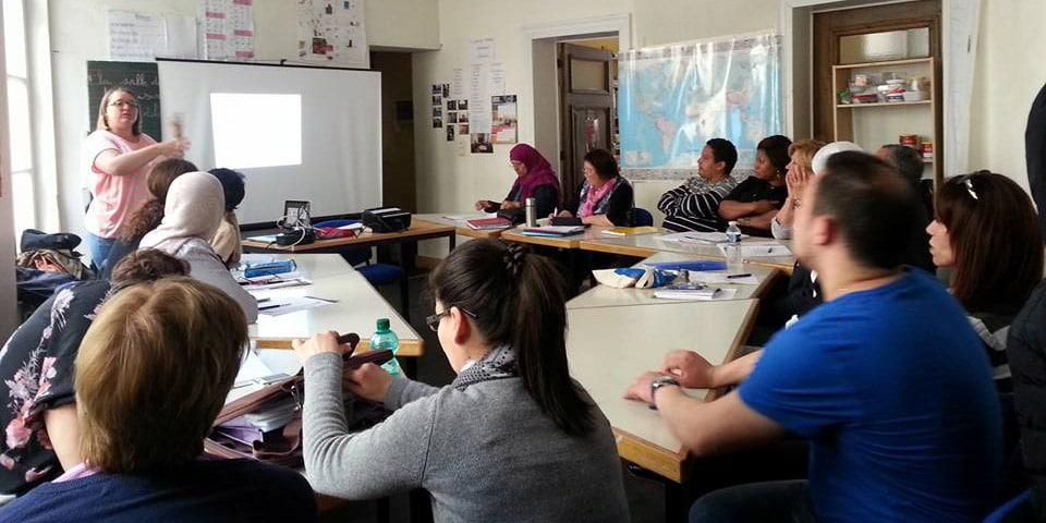 CSB, Centre social du Béguinage : cours de français langue étrangère