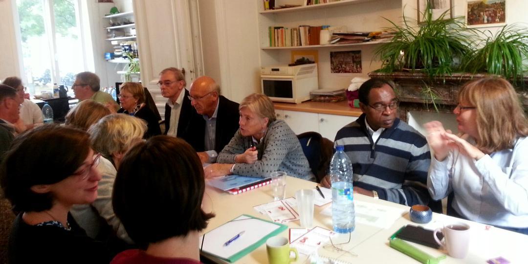 CSB - Centre social du Béguinage - réunion de coordination